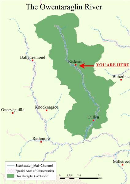 A River of Sliabh Luachra, the Owentaraglin