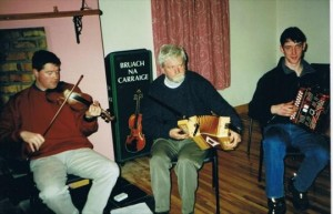 Connie Moynihan, Dan Herlihy & Tony Curtin - 2001